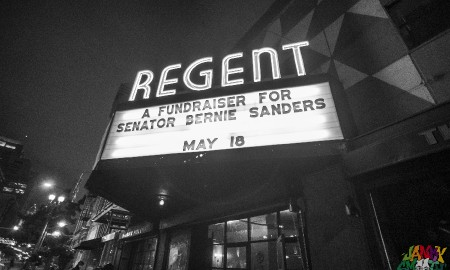 New Sound Alliance Bernie Sanders Fundraiser at Regent Theater