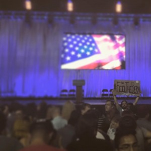 August 2015 Sanders Rally at LA Sports Arena