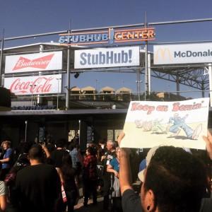 Bernie Sander Rally, Carson Ca.
