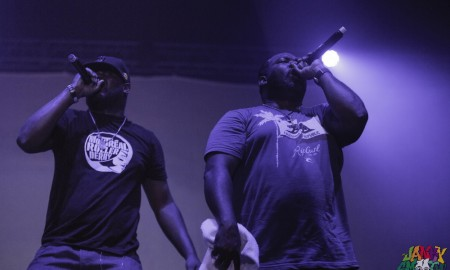 Ghostface Killah and Raekwon at Low End Theory Fest