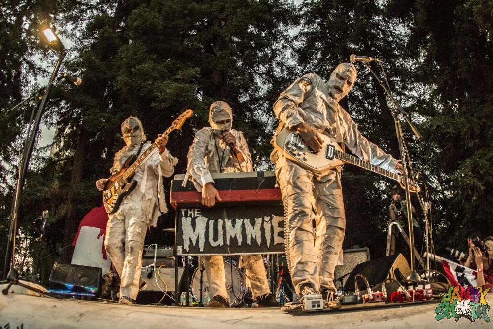 The Mummies at Burger Boogaloo by Joanna Bautista