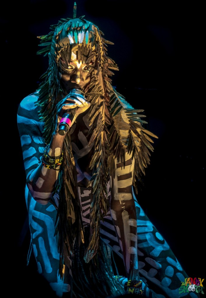 Grace Jones at FYF by Josh Allen