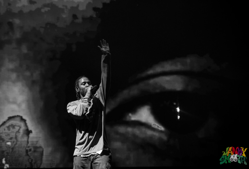 Kendrick Lamar at FYF 2016