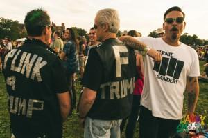 Riot Fest Chicago 2016 Election Crowds