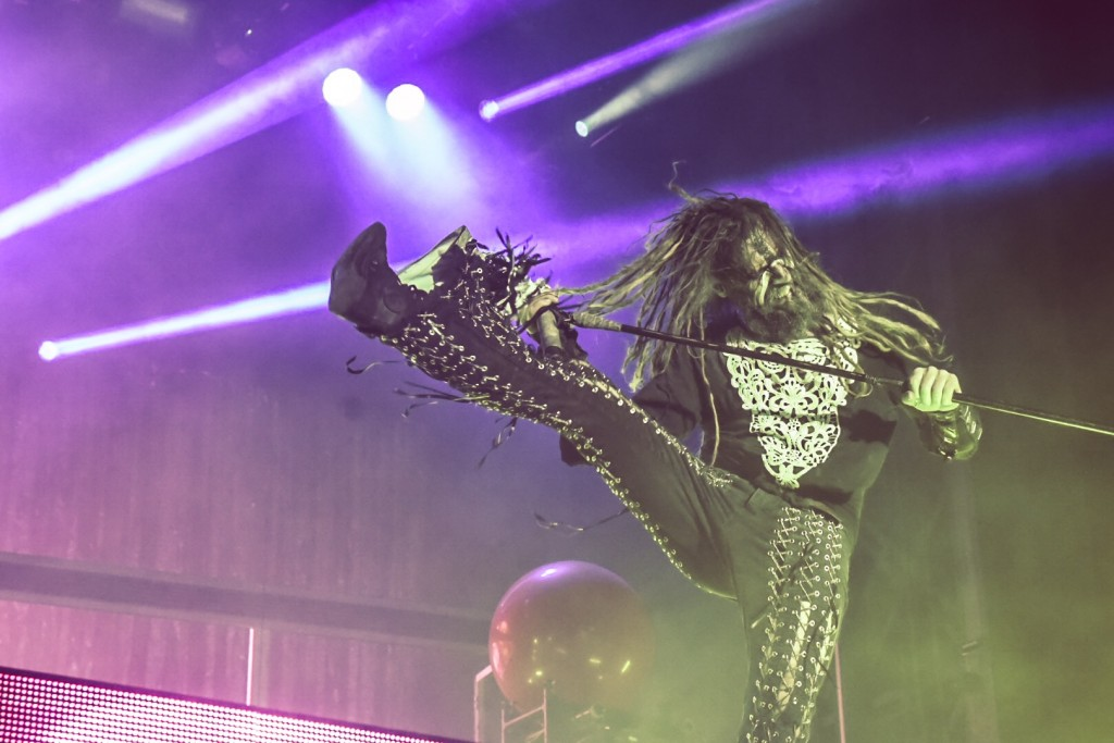 Rob Zombie at Riot Fest by Taylor Wong