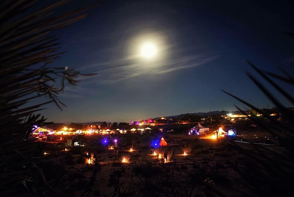 The Hunters Moon at Desert Daze 2016