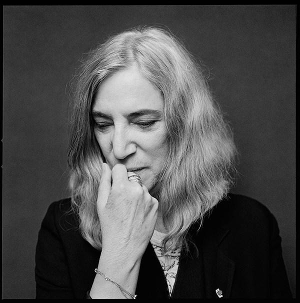 Patti Smith photo by Jesse Ditmar