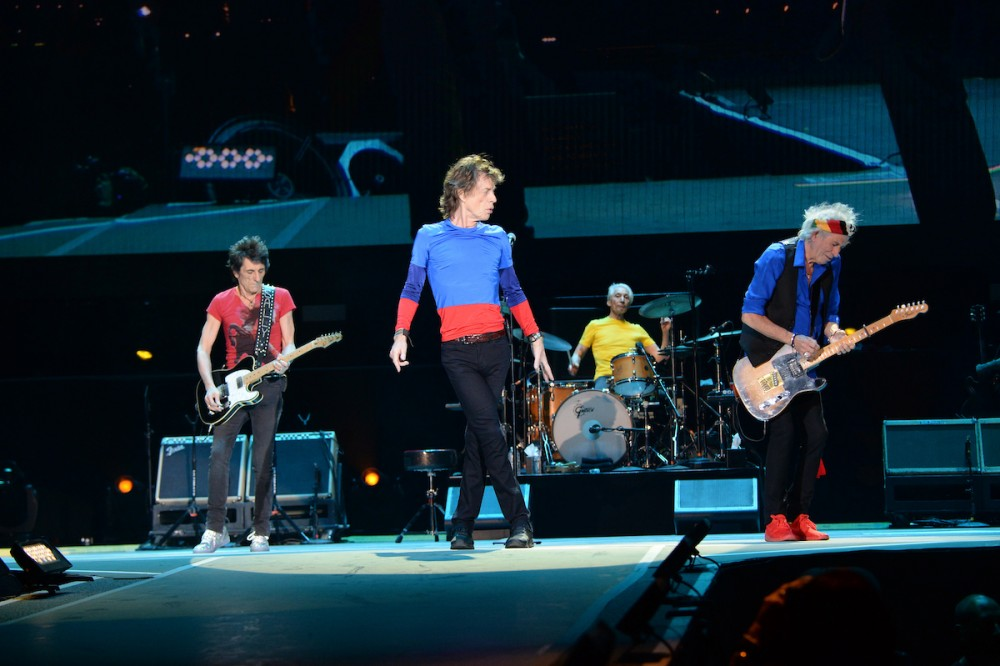 The Rolling Stones at Desert Trip shot by Kevin Mazur