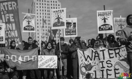 DAPL Protesters at Standing Rock by Berry Ward