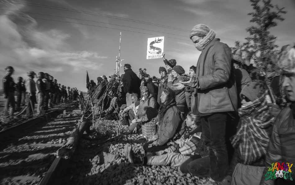 Protests at Standing Rock by Berry Ward