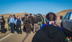 Stand off at Standing Rock by Berry Ward