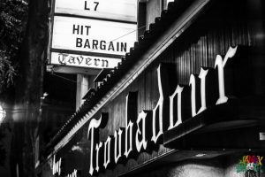 L7 and Hit Bargain Marquee at Troubadour