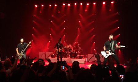 Metallica- The Fonda Theatre