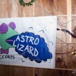 Astro Lizard at Midnight Mass Rudes by Grace Suzette Dunn
