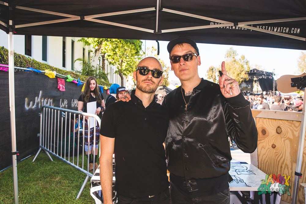 Alkaline Trio and AFI at When We Were Young