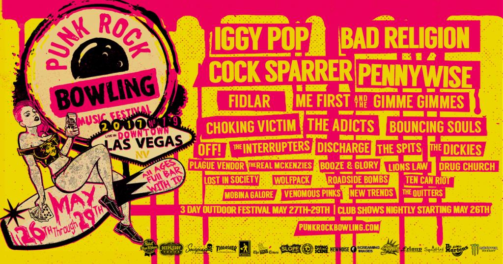 Punk Rock Bowling 2017 Festival Lineup