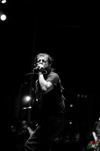 Keith Morris w/ Flag at PRB '16 by Todd Anderson