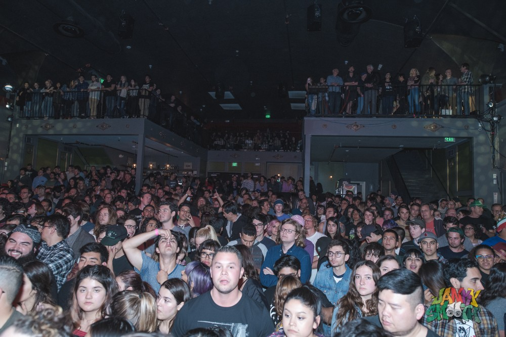 The Orwells packed The Regent Theater