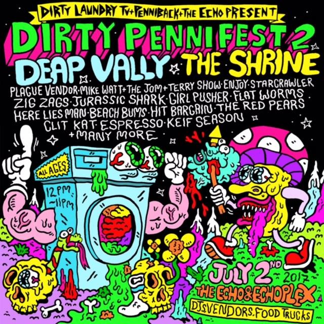 Dirty Penni Fest 2 Flyer