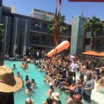 Gold Spike pool party w/ The Dickies