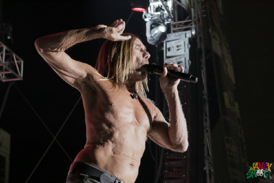 Iggy Pop by Travis Moore