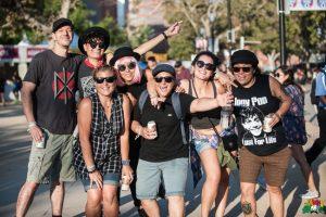 FYF Fest Crowd