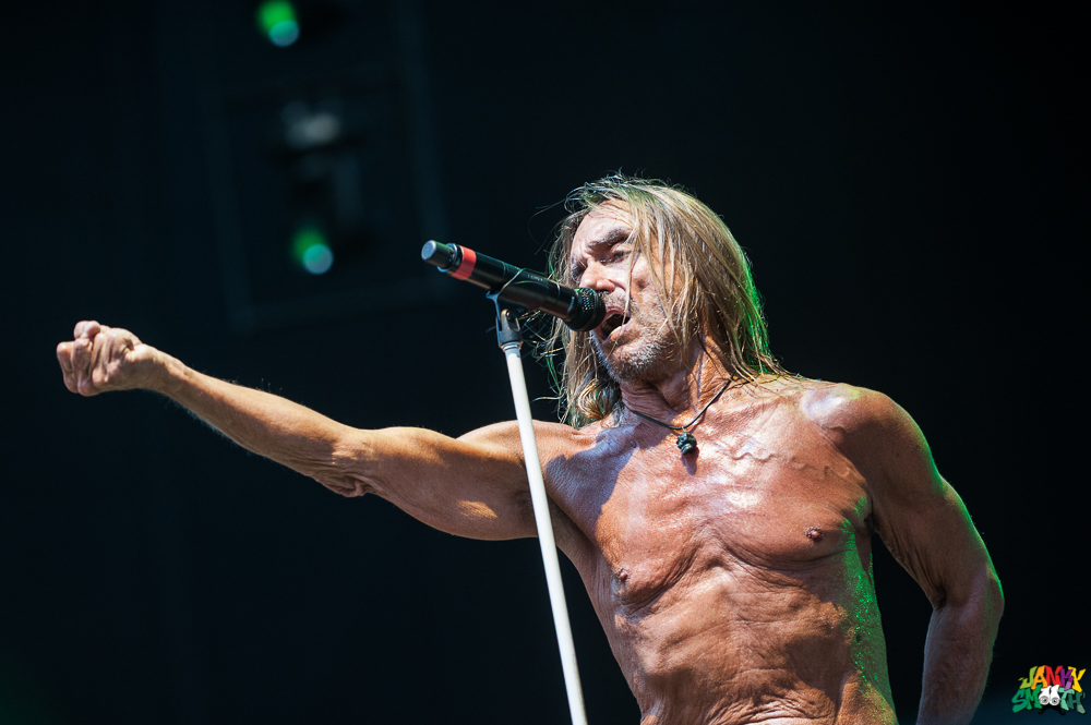 Iggy Pop at FYF
