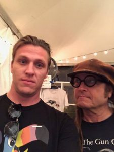 Keith Morris & Dave Unbuckled at FYF Fest 2017