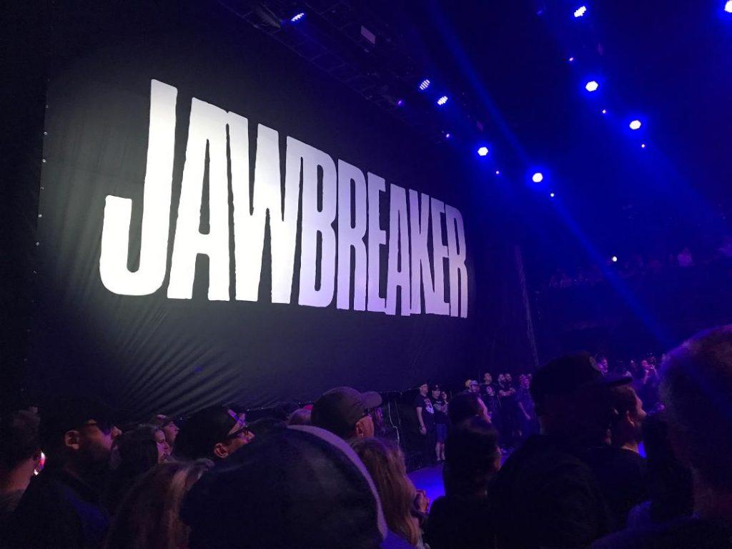 Jawbreaker stage backdrop
