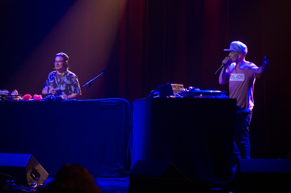 Mike Patton and DJ QBert