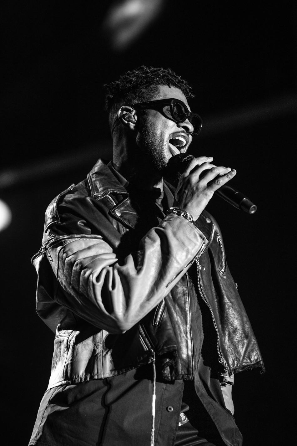 Usher shot by Joseph Baura
