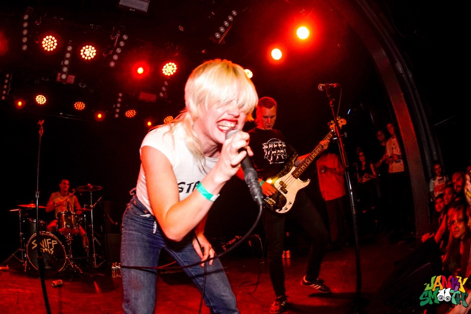 Amyl and the Sniffers shot by Anthony Mehlhaff