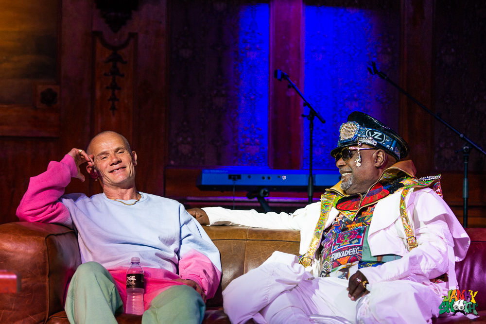 Flea and George Clinton